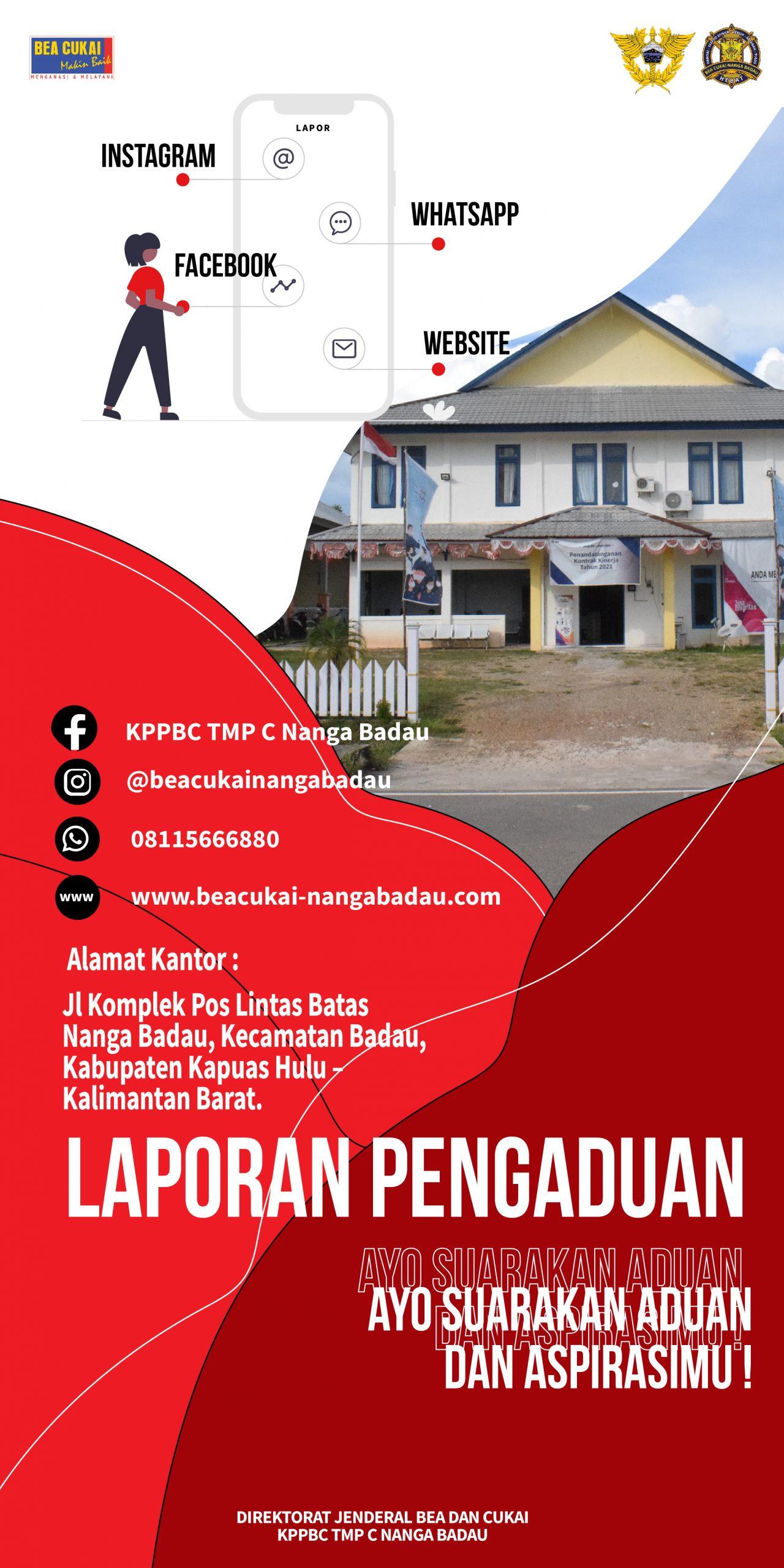 Kantor Pengawasan dan Pelayanan Bea dan Cukai Tipe Madya Pabean C Nanga Badau